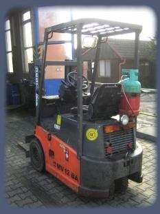 Vysokozdvižný vozík DESTA - MV 12 BA (bazar)