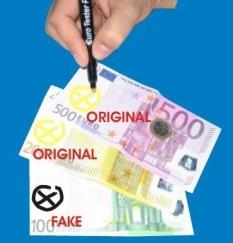 Testovacie pero na bankovky Euro Tester Pen