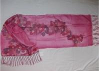 Originální ručně malované hedvábné šály, šátky, kravaty od výtvarnice, hedvábí jako kvalitní dárek
