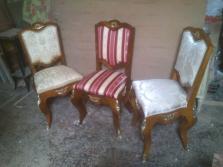 Replika rokokové židle