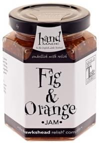 Džem fíky a pomeranč (ruční výroba / Anglie)