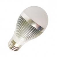 5W LED žárovka E27 teplá, bílá