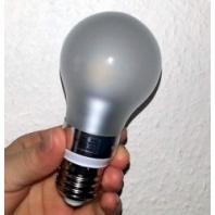 5W E27 LED žárovky teplá bílá stmívací