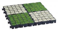 Zatravňovací plastová dlažba Ecoraster elastic