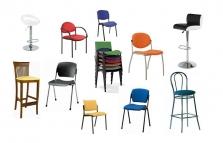Konferenční, přísedící a barové židle