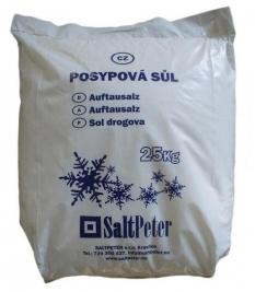 Průmyslová a posypová sůl