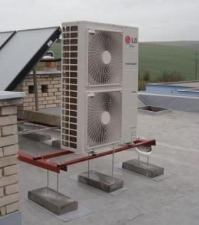 Tepelná čerpadla vzduch - vzduch