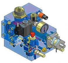 Komponenty výtahů - Řídící blok NGV Fluitronic