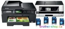 BROTHER inkoustové A3 multifunkce a LC-xxx originální inkoustové cartridge