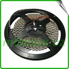 LED pásek SMD3528 9,6W 120LED/m studená bílá, IP65, 1m