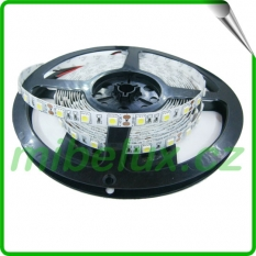 LED pásek SMD5050 14,4W 60LED/m teplá bílá, IP20, 1m
