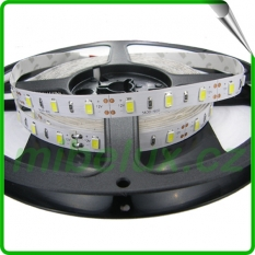 LED pásek SMD5630 18W/m  teplá bílá, LG45lm, IP20 1m