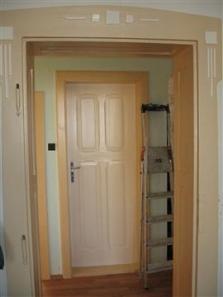 Nátěr dveří