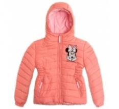 Zimní bunda Minnie Mouse světle oranžová vel.104