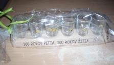 Set poharikov
