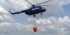 Hašení požárů vrtulníkem
