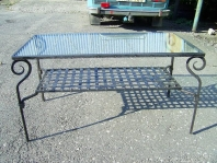 Kovářství Ševeček - kovaný nábytek