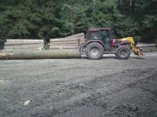 Přibližování a vyvážení dřeva