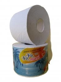Toaletní  papír KuKumaxi bílý /68m /2-vrstvý