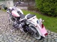 Čalounění sedel na motorku