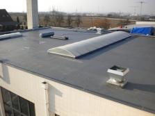 Hydroizolace plochých střech, teras, balkonů