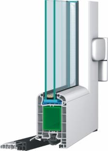 GL SYSTEM – dveřní profil
