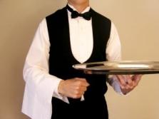 Oblečení pro číšníky a servírky