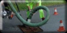 Strojní čištění kanalizace