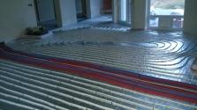 systém podlahového topení