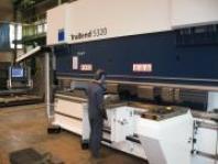 Práce na CNC ohraňovacím lisu