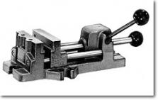 Svěrák strojní  - rychloupínací  pákový 6540