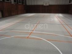 Interiérové športové povrchy - Kombinovaná odpružená podlaha