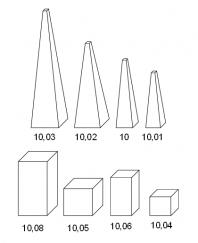 Pyramidy, hranoly