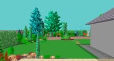 Projekce zeleně
