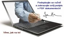 Ručně psaný podpis v elektronickém dokumentu