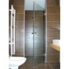 Sprchové dveře (kování + sklo)