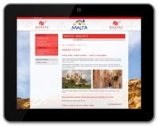 Ukázka z microsite EasyEvent - Společnost Maspex na Maltě