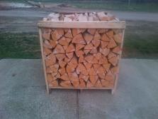 Štiepané drevo paletované
