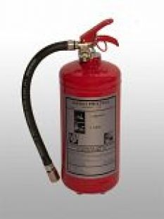 Hasící přístroje plynové s čistým hasivem