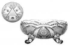 Broušený a pískovaný český křišťál