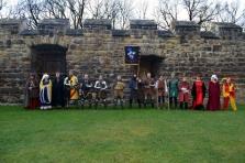 Skupina historického šermu
