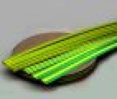 Žlutozelené smršťovací trubky, typy RCz a RPz