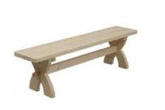 Dřevěná zahradní lavice LZD-03