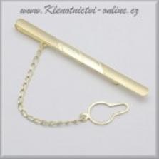 Zlaté kravatové spony
