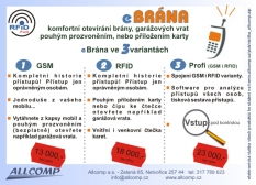 GSM ovládání, alarmy