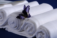 Bavlněná plena , plena bílá 70x70, 100% bavlna