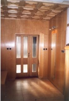Dřevěné kazetové stropy a interiéry
