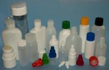 Plastové obaly - lahvičky
