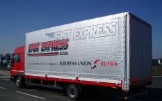 Přeprava zboží velkoobjemovými soupravami do 120 m3