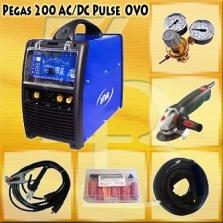 Pegas 200 AC_DC Pulse+príslušenstvo+ brúska